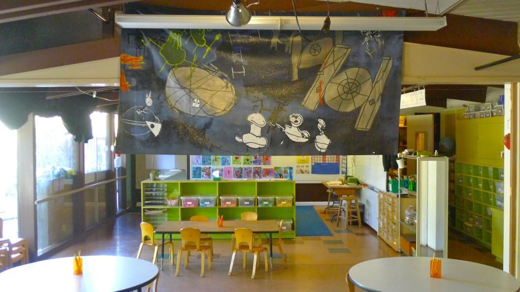 Inside the multi-age K-1 classroom