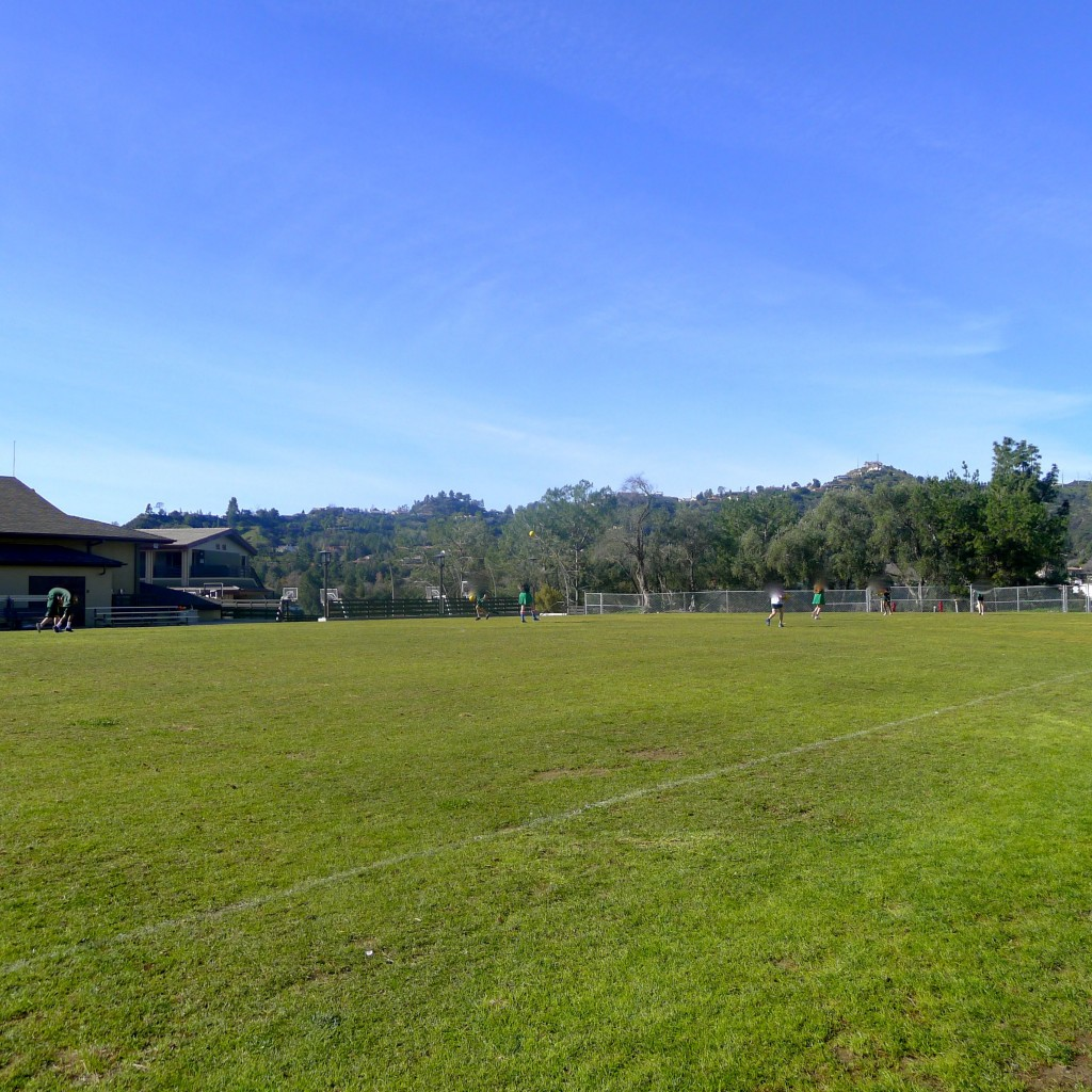 Athletic fields!