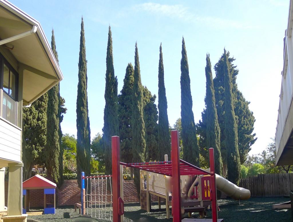 Kindergarten play area