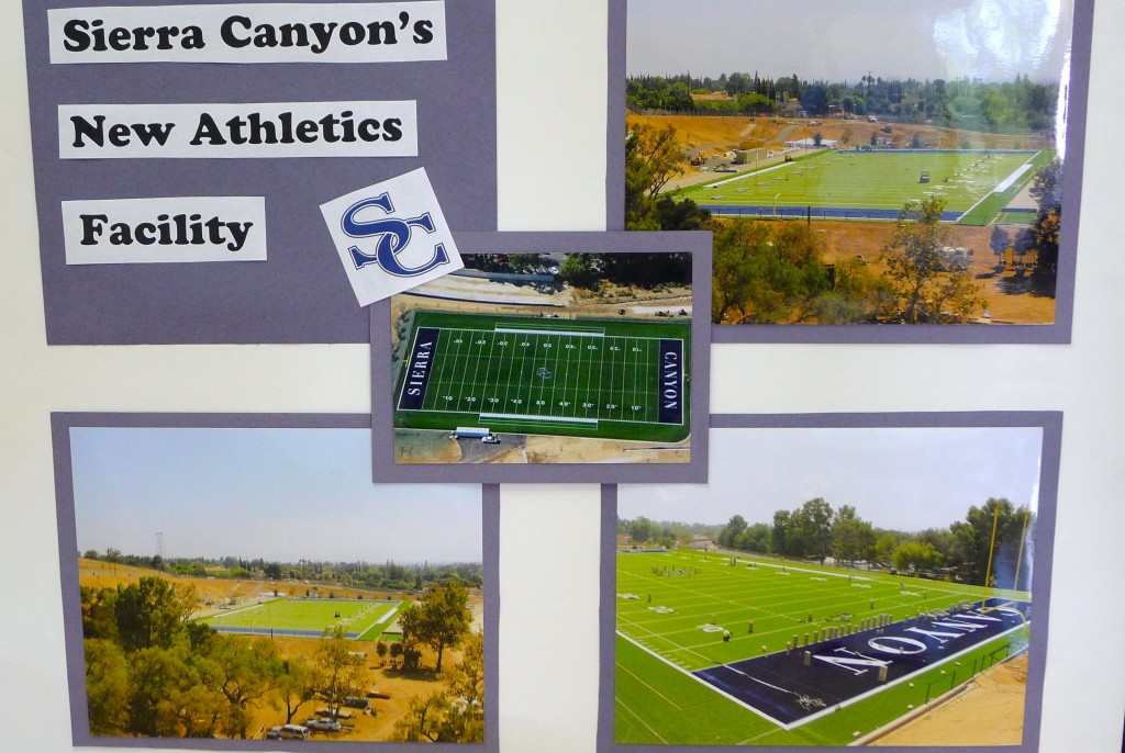 Rendering of athletic field renovation