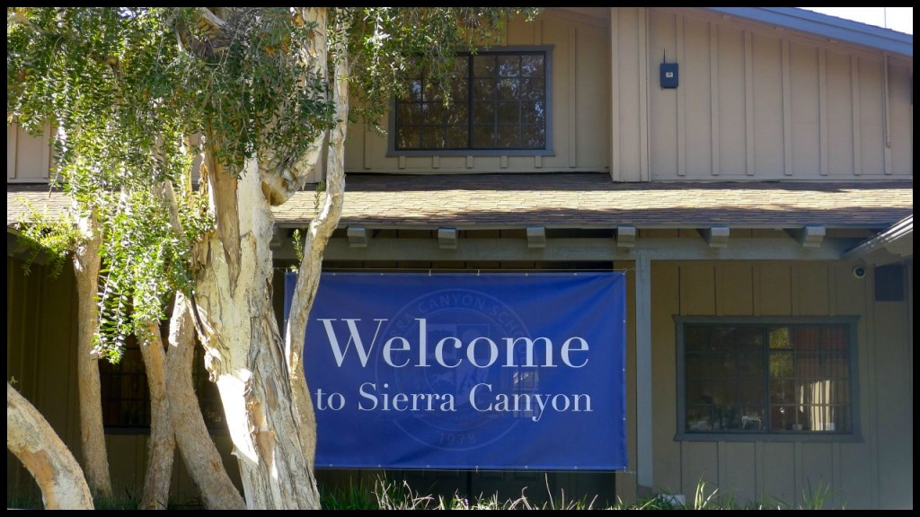 Entrance to Sierra Canyon