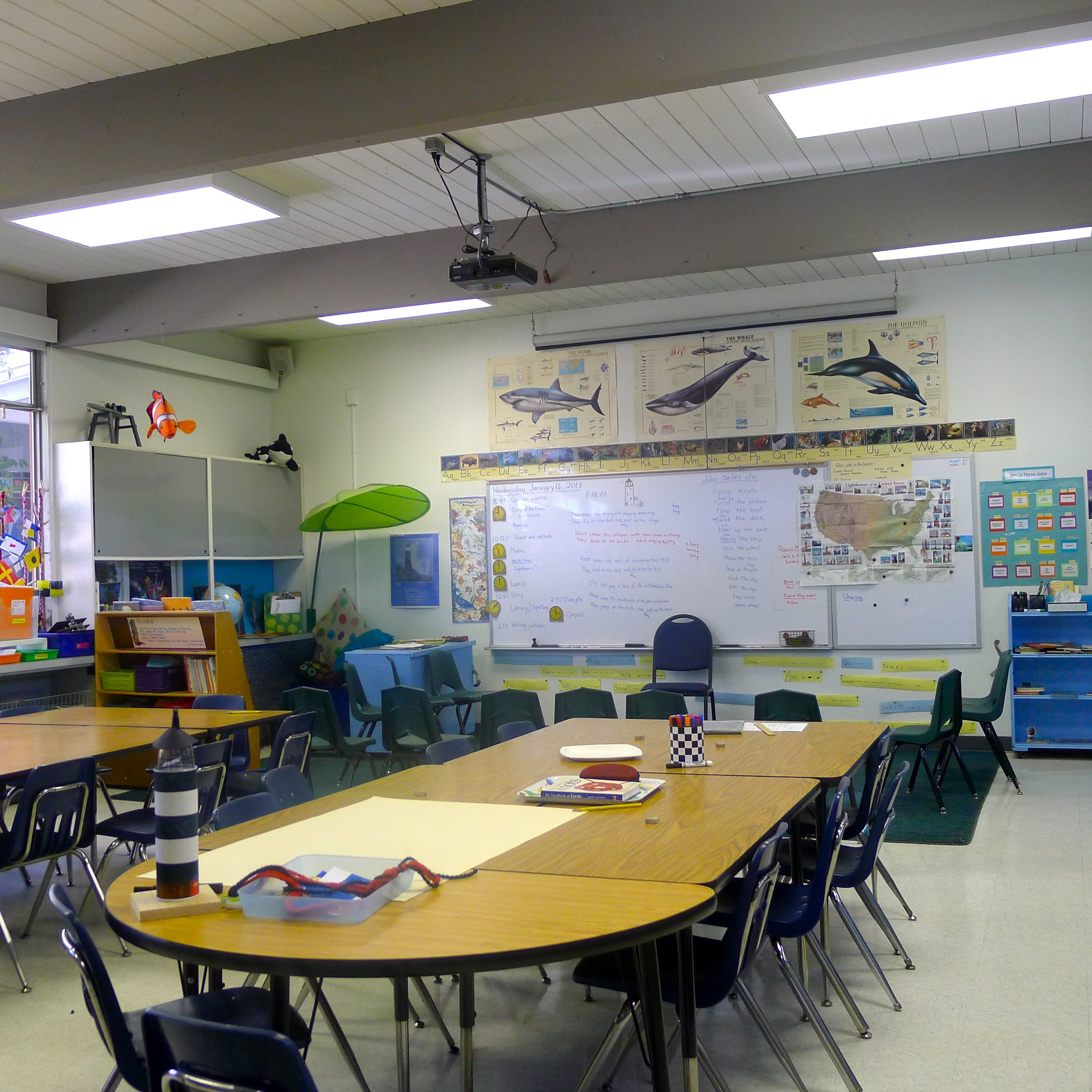 Group 3 classroom