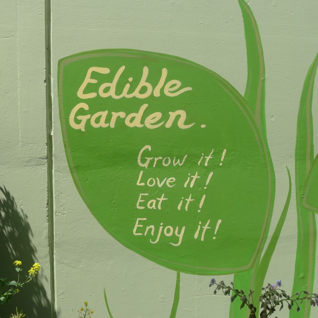 Edible Garden Message