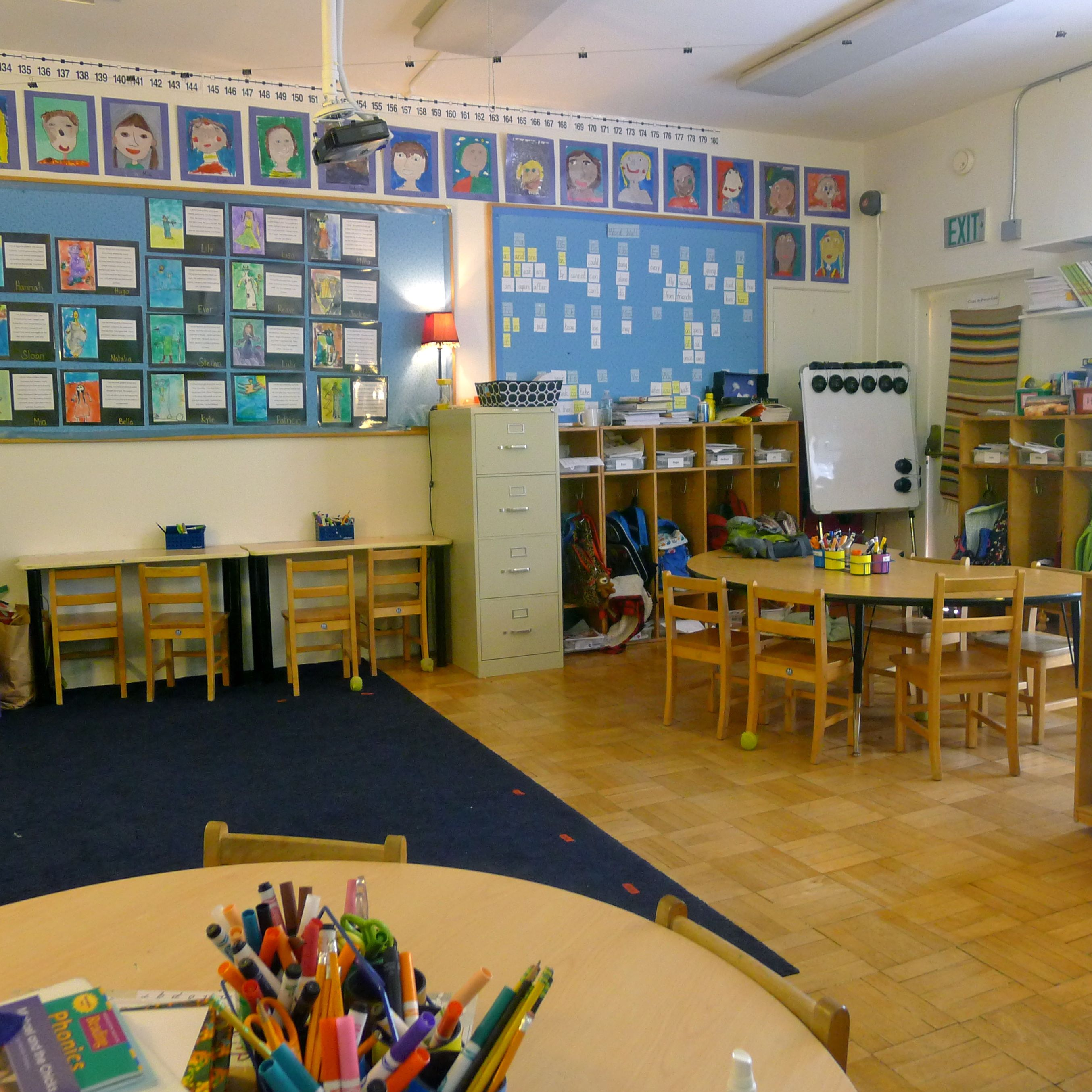 Innovative First Grade Classroom ~ Seven arrows school beyond the brochure