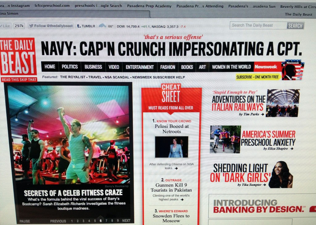 The Daily Beast/Newsweek Front Page