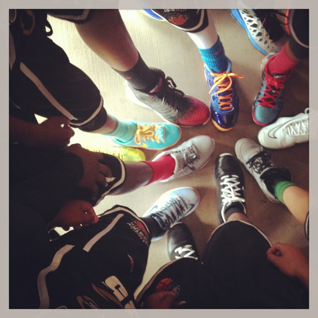 My favorite pic. Baller shoes.