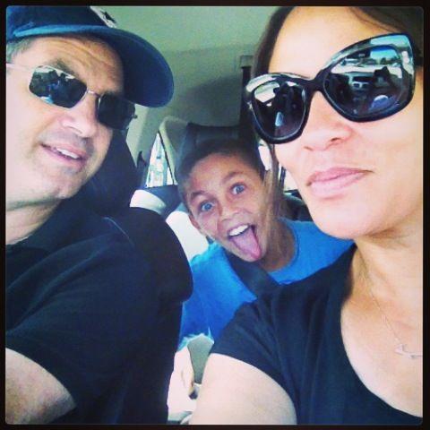 On our way to Lake Arrowhead
