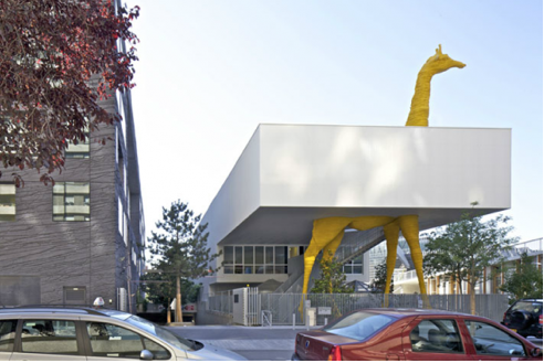 Centro Infantil Municipal in El Chaparral, Granada, Spain. Photo: Timbuktu Magazine