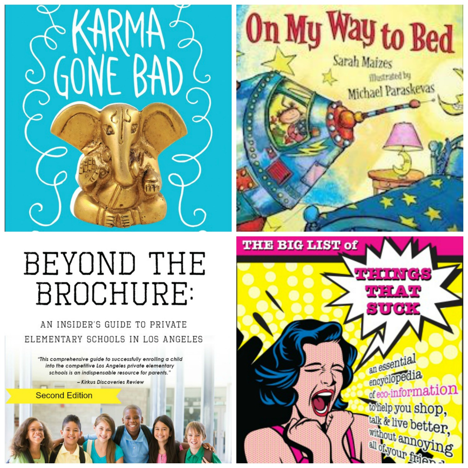 Four authors. Four books by L.A. moms and writers.