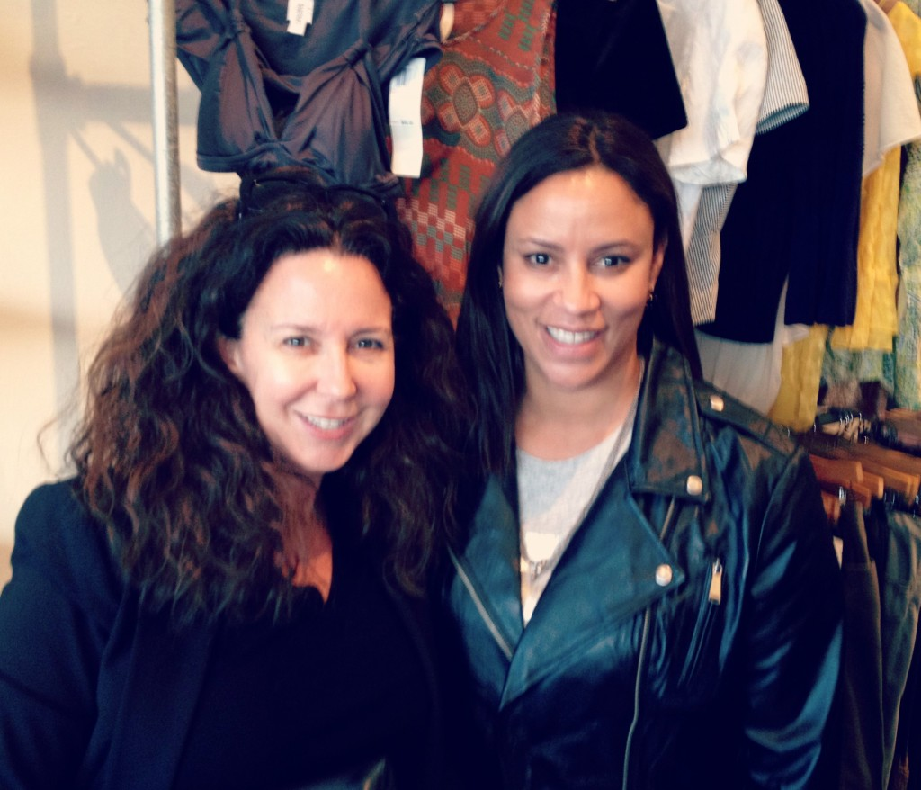 With my partner in shopping, Jessica Gottlieb (JessicaGottlieb.com) at #SwapYourStyle