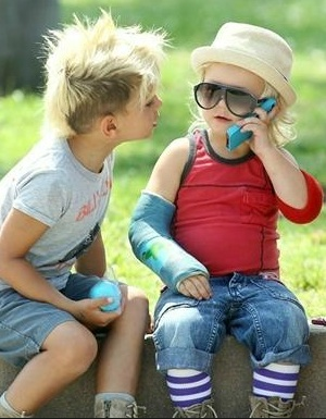 Progressive Schools: Hipster kids dress the part (Singer Gwen Stephani's kids)