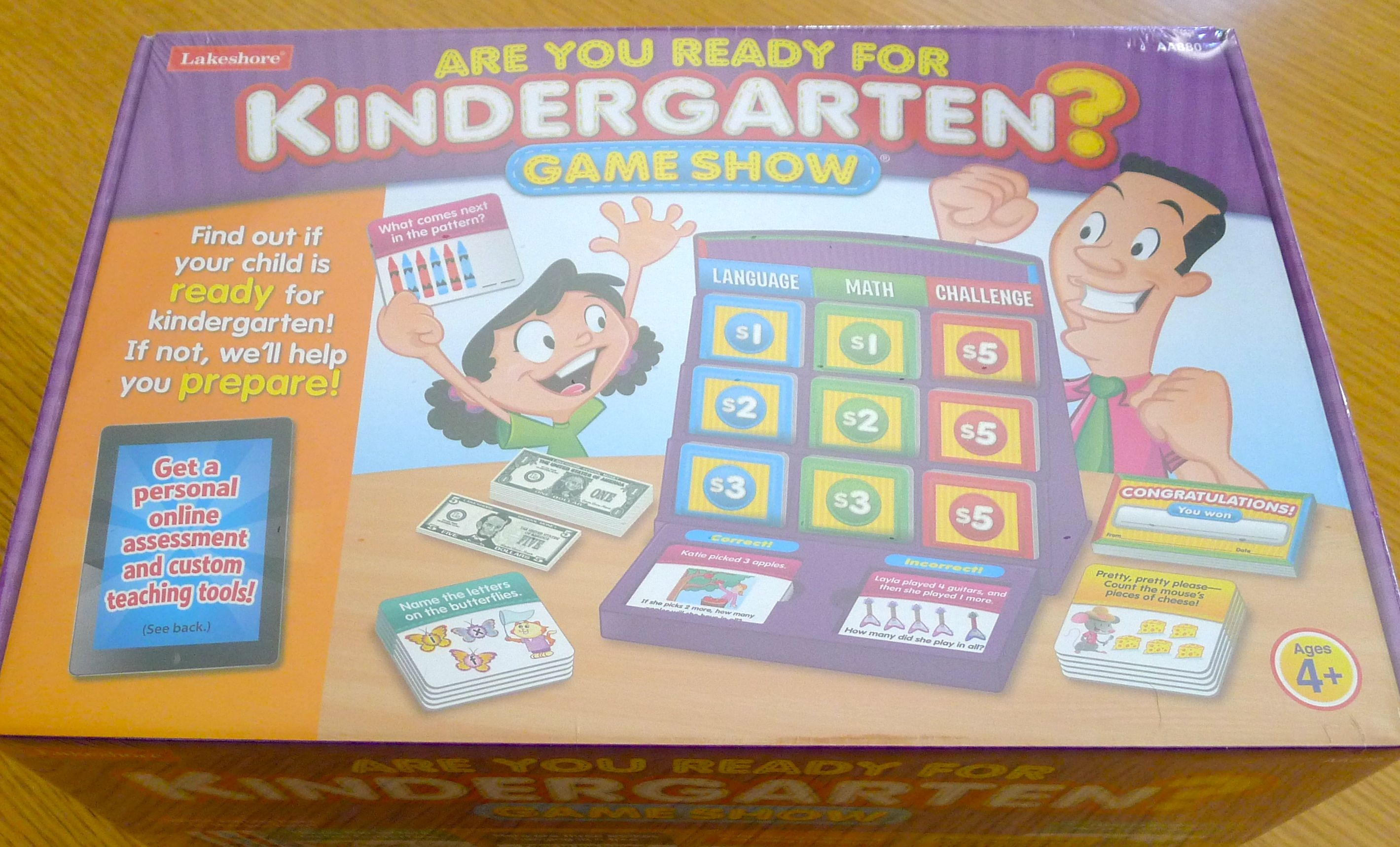 Lakeshore learning has a new game are you ready for kindergarten