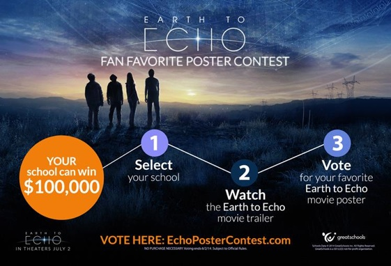 Relativity Studios, Great Schools, Poster Contest
