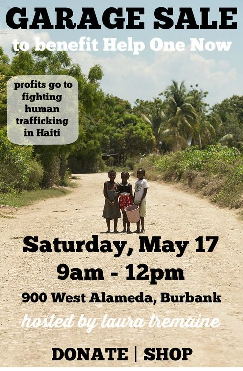 Garage Sale For Haiti