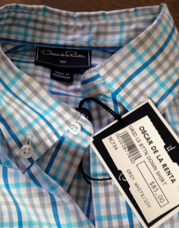Boy's Oscar De La Renta Shirt