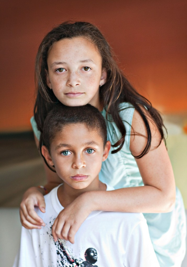 One of my favorite pics of the kids, 2012. Photo: Joy Smallwood