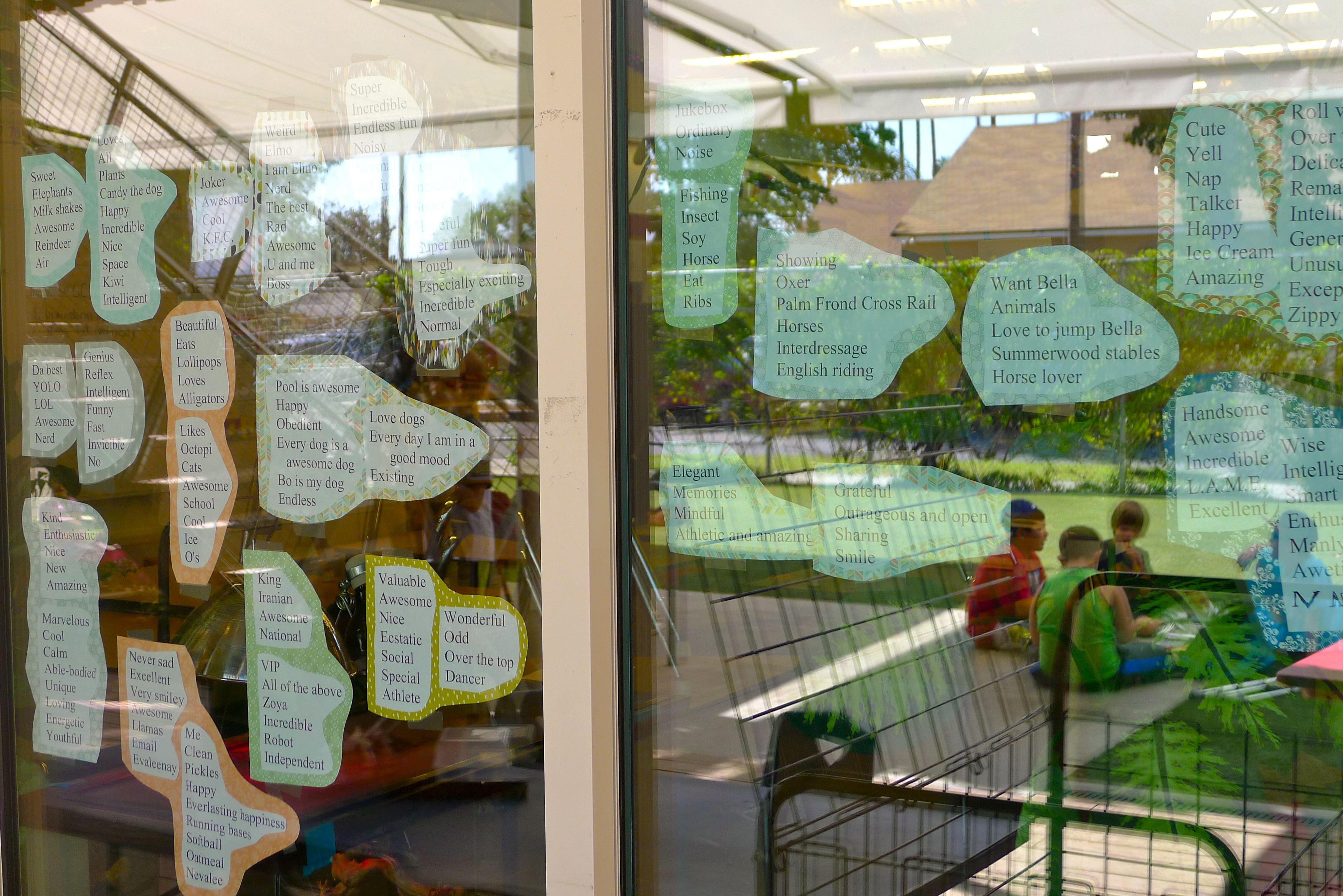 CCS Classroom Window