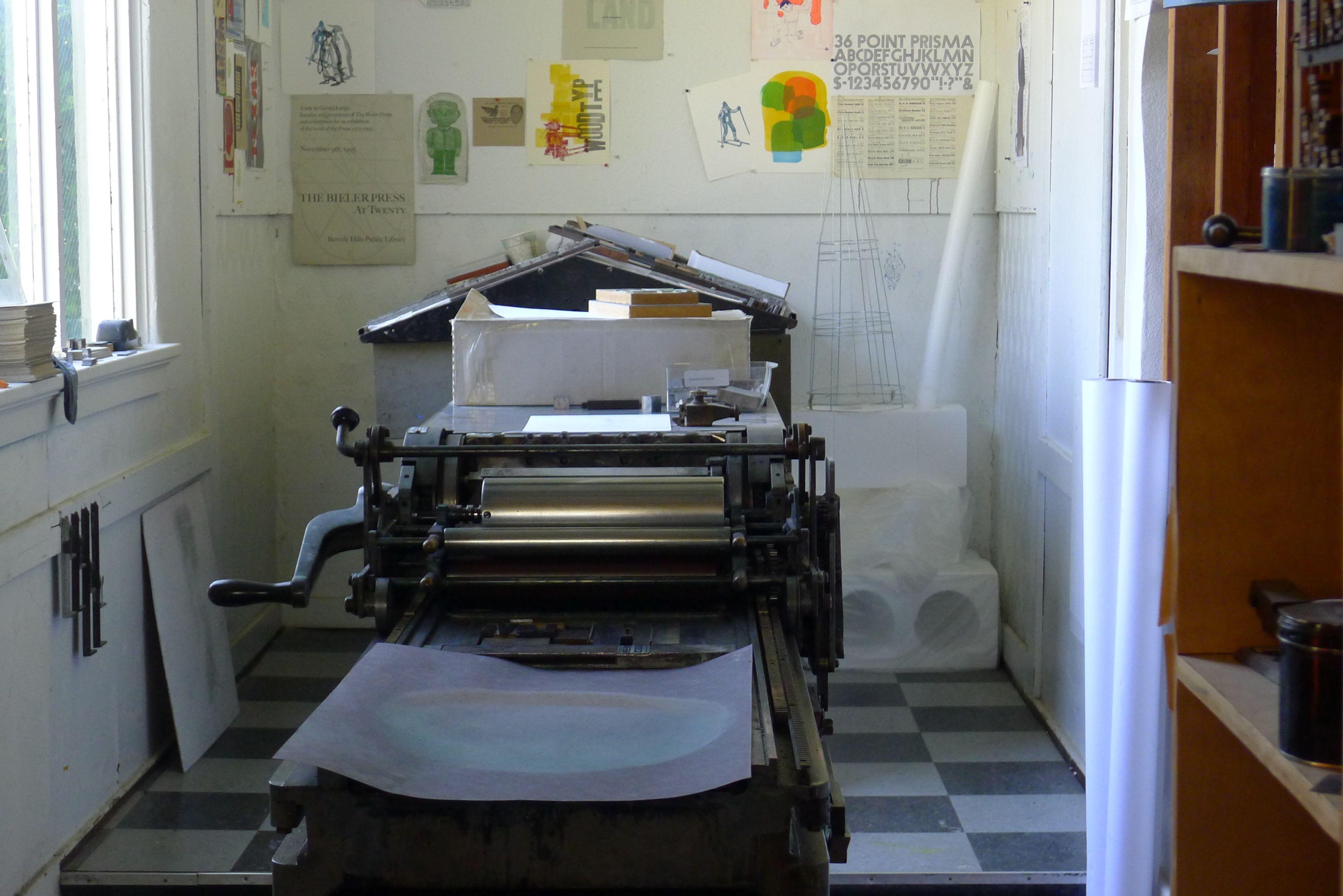 CCS Printing Press
