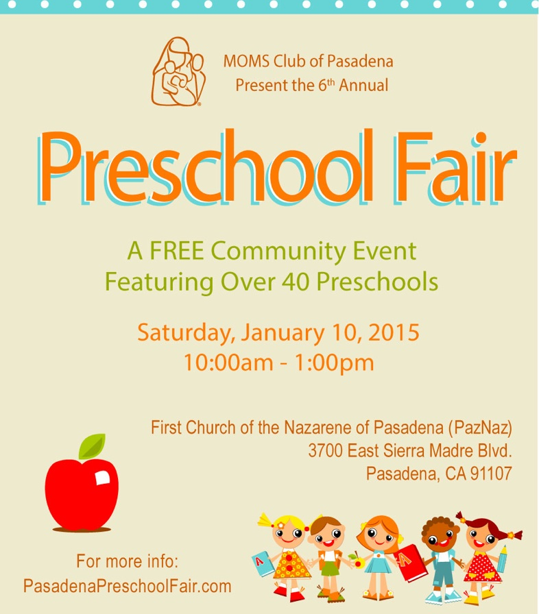 Pasadena Preschool Fair