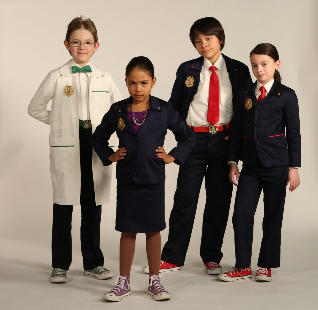 The cast of Odd Squad
