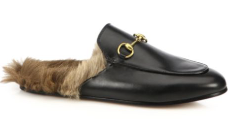 "The ""It Shoe"" at some of L.A.'s top private schools. Gucci's Princeton Loafer. $995.00"